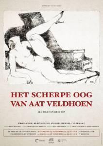Affiche Het scherpe oog van Aat Veldhoen