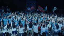 De rode-ziel - jeugdkamp op de Krim
