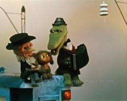 Голубой вагон - песни из мультфильмов