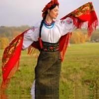 При долині кущ калини - українські пісні