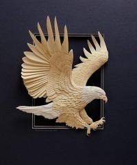 Бумажные скульптуры Кальвина Николса