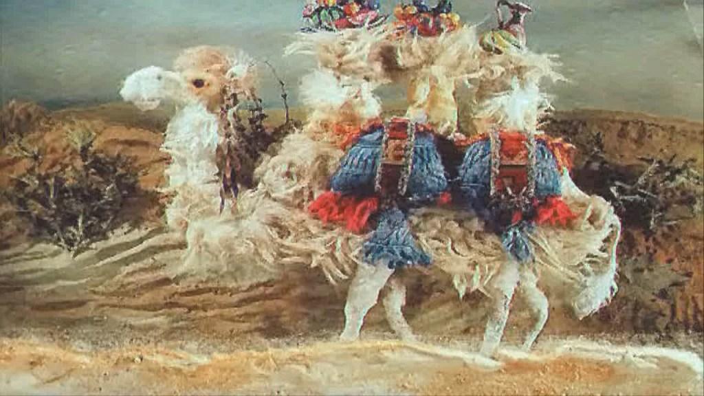 Зачем верблюду апельсин