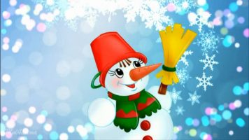 Новогодние песни - Снеговик