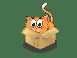 Слайд шоу - Коты в коробках