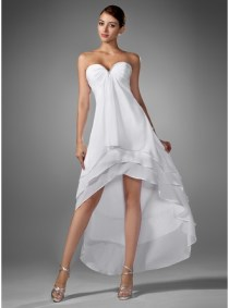 Asymetic proem dress inspiration [white]
