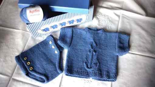 Jersey bebé patrón Ancla foto principal