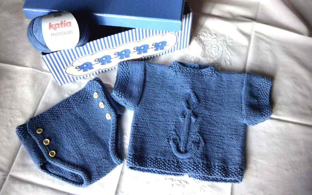"DIY ""Anchor"" Baby clothing pattern"