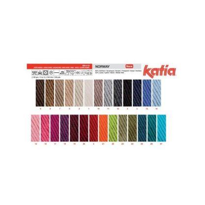 Como hacer gorros de lana gama de colores katia