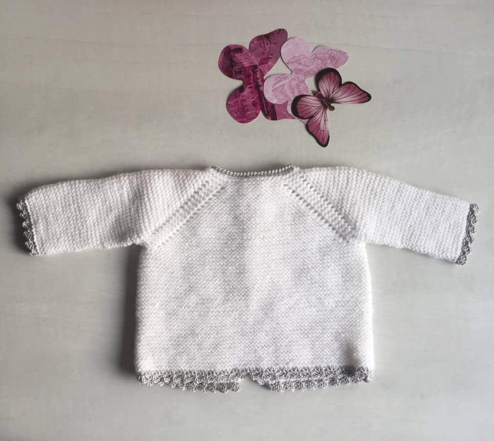 Jersey de ganchillo para bebé en varias tallas DIY