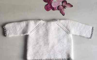 Jersey de tricot con ganchillo para bebé en varias tallas Ropa DIY.
