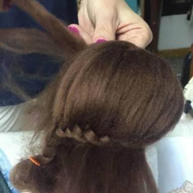 Amigurumi crochet Peinando