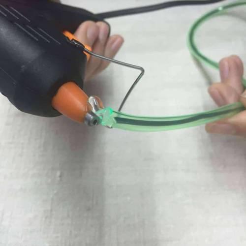 Amigurumi crochet Sellar final del tubo