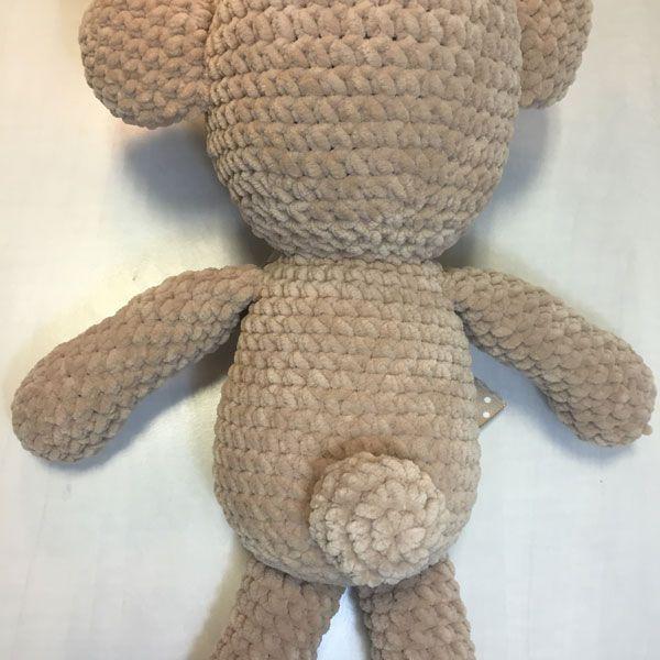 Patrones amigurumis: Osito bamby - Molan Mis Calcetas