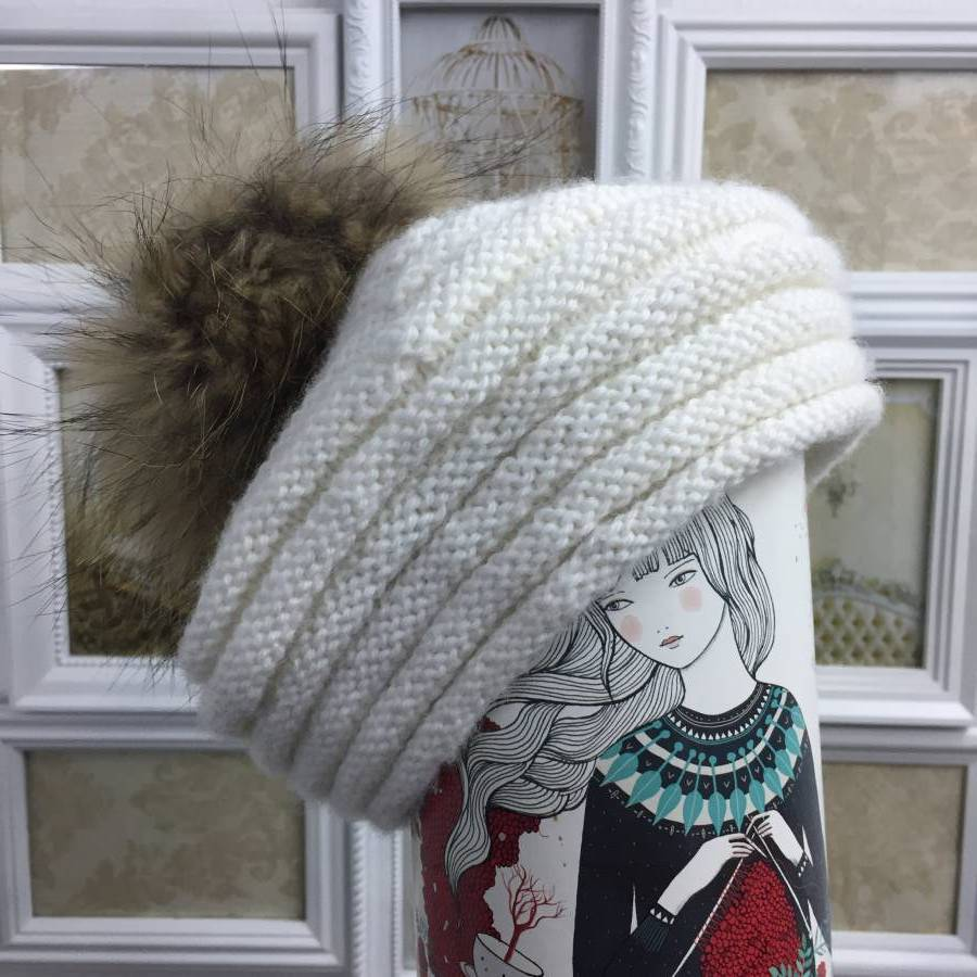 gorro de lana patron