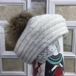 Patrón de gorro de lana o Boina paso a paso