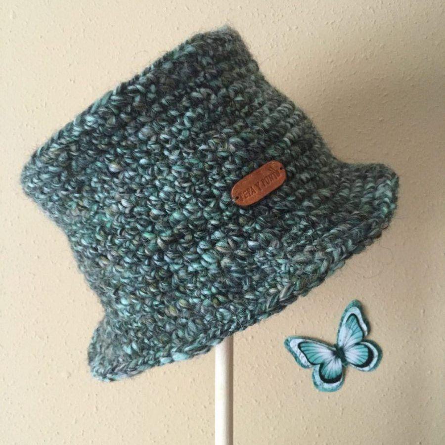 Gorro a crochet rapido facil