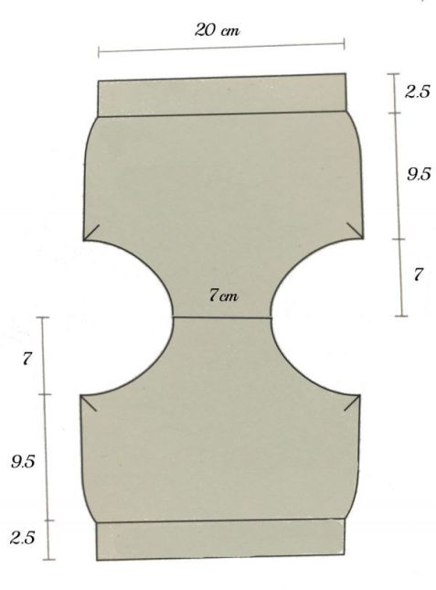 medidas cubrepañal fiocco ganchillo