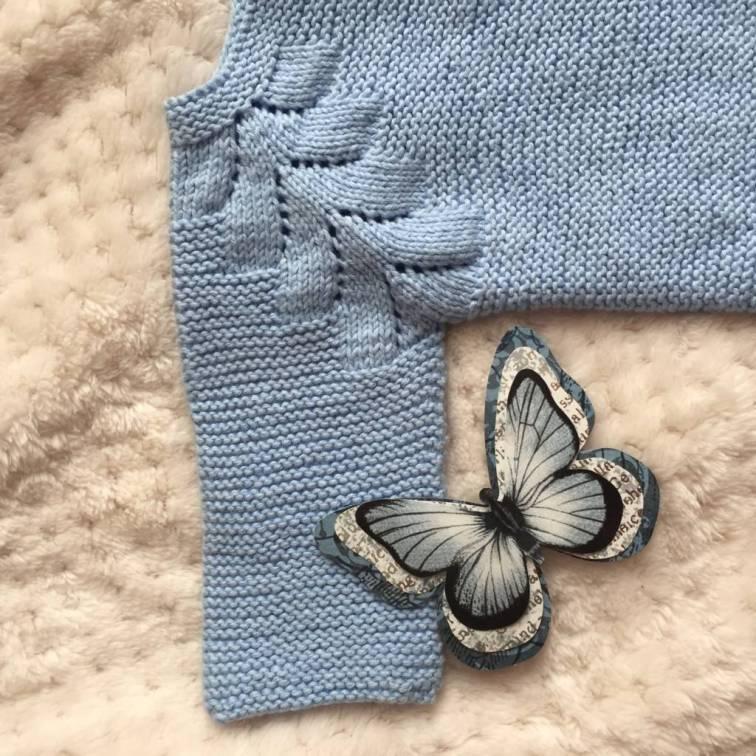 Manga del jersey de punto con raglán de espiga
