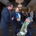 Judge Richard B. Teitelman and Kurt Shafer at the 2014 Missouri Lawyers Awards. File photo.