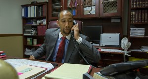 Moniteau County Prosecuting Attorney Shayne Healea photographed in his office in California in this file photo. Photo by Karen Elshout