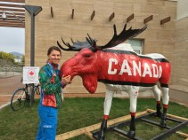 Canada feels like home in the Olympic Village