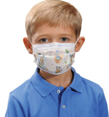 kid protective mask for black mold