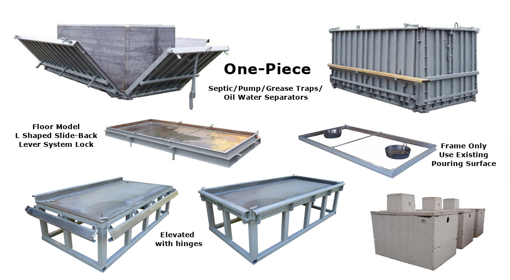 Concrete Septic Tanks - Septic Tank Forms For Sale