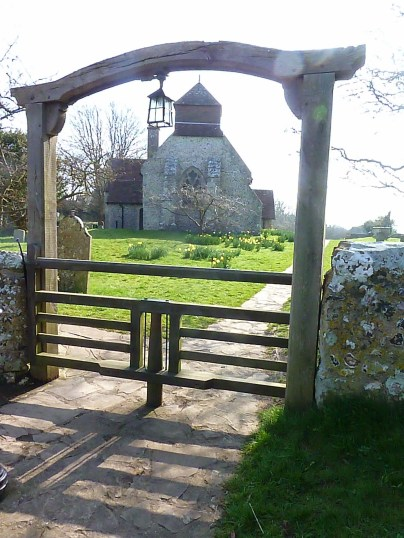 Sporting a rare Sussex Tapsel gate