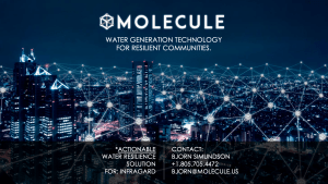 Molecule Actionable Water Resilience Solution Presentation for InfraGard 09032021