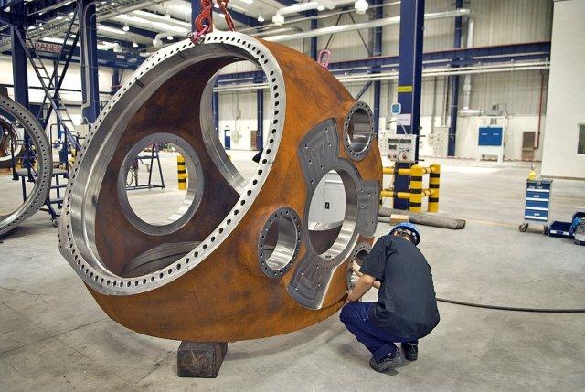 Turbines in production. Image (c) Vestas