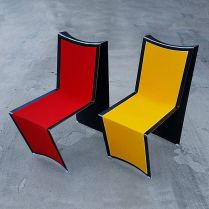 Steel Arc Chair