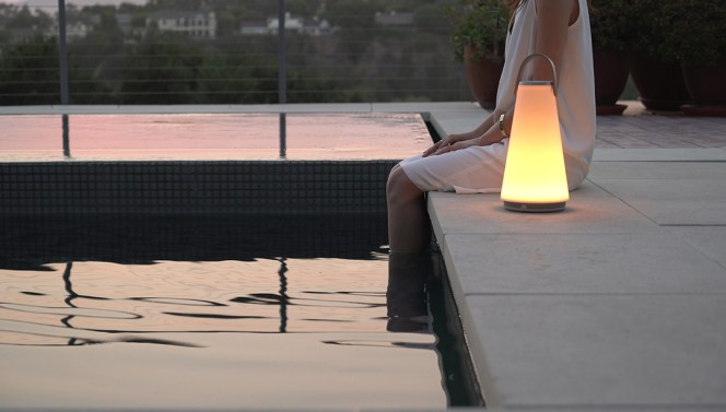 Uma Sound Lantern, by Pablo Designs-molecule design