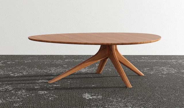 Beautiful bamboo mid-century modern table by Grenington