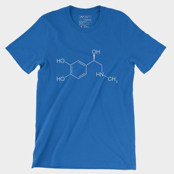 Adrenaline Moleculestore T-Shirt Royal Blue