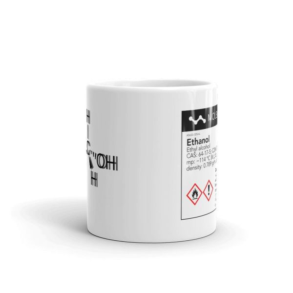 ule Intoxicated White Mug 11oz Front View