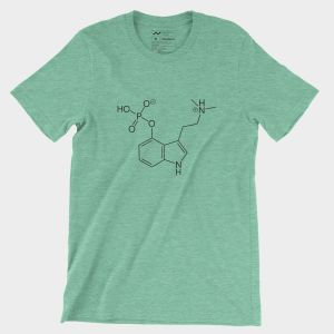 Psilocybin T-Shirt Heather Green
