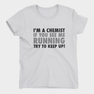 Running Chemist T-Shirt Ladies White