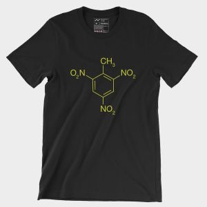 TNT Molecule T-Shirt Black Yellow 2