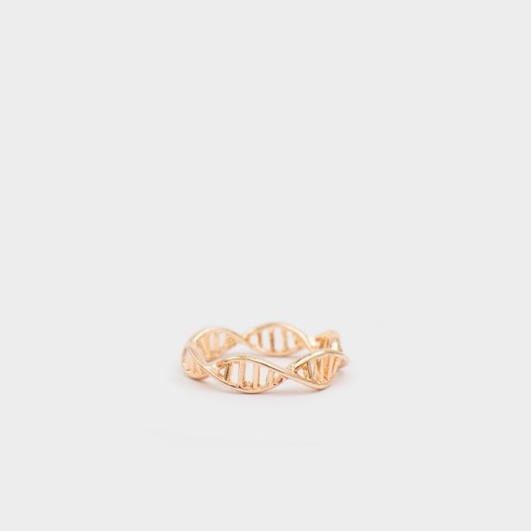 DNA Ring Rosegold