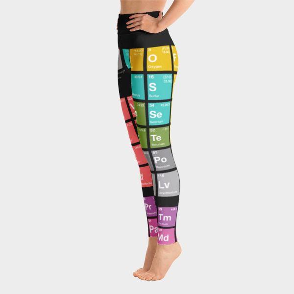 Periodic Table Yoga Pants