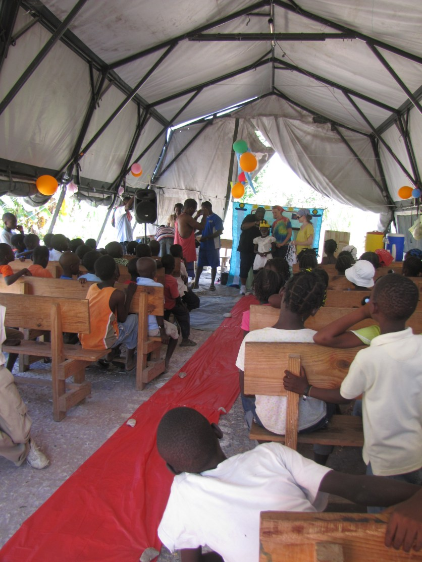 This photo is from today's VBS