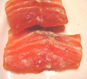 Tämä lohi on kypsynyt suolalla, mutta maaliskuun MG klubi testaa happoa kalan kypsyttäjänä.