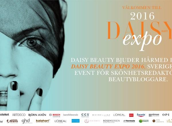 #dbexpo16 daisy beauty expo 2016