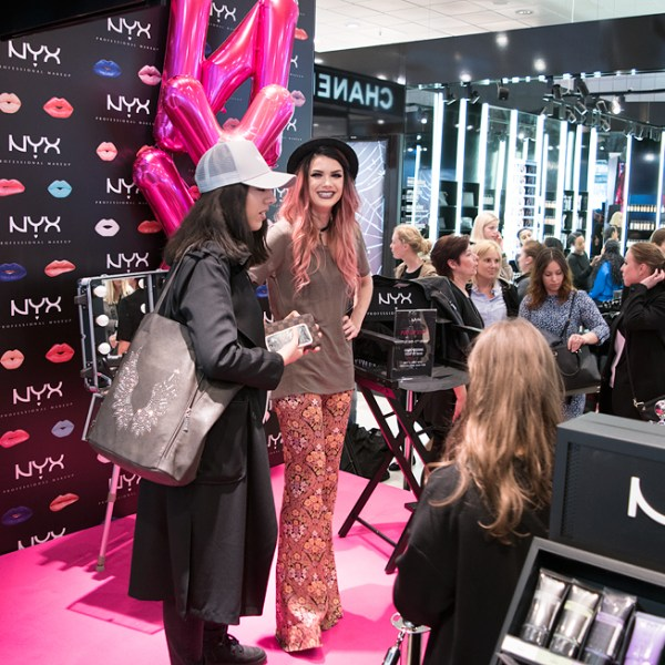 nyx event pop-up store stockholm