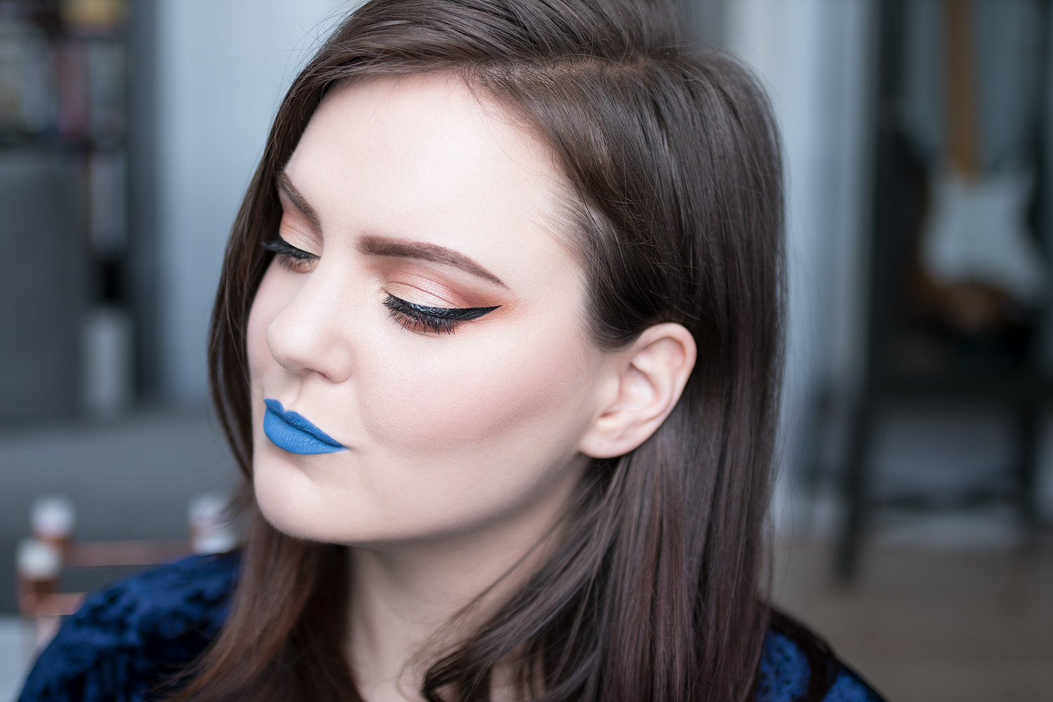 motd makeup of the day cold as ice