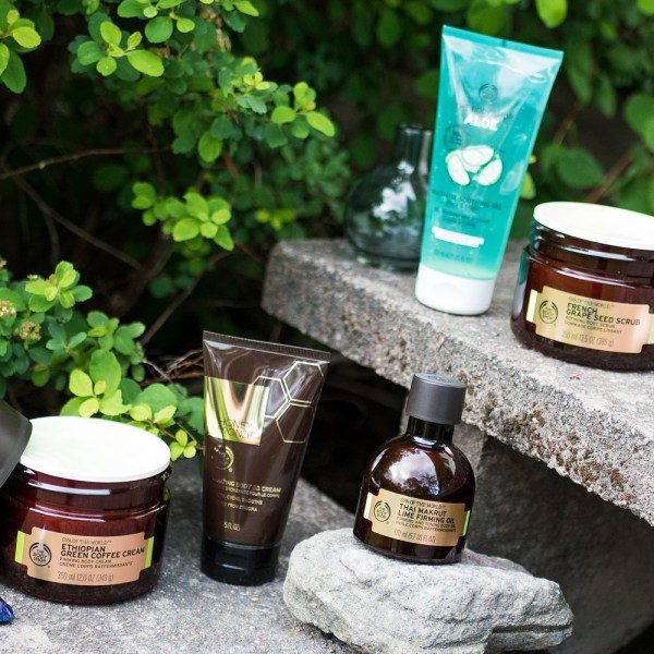 the body shop summer sommar 2017 spa of the world ethiopian coffee french grape seed thai makrut lime aloe honey bronze body bb