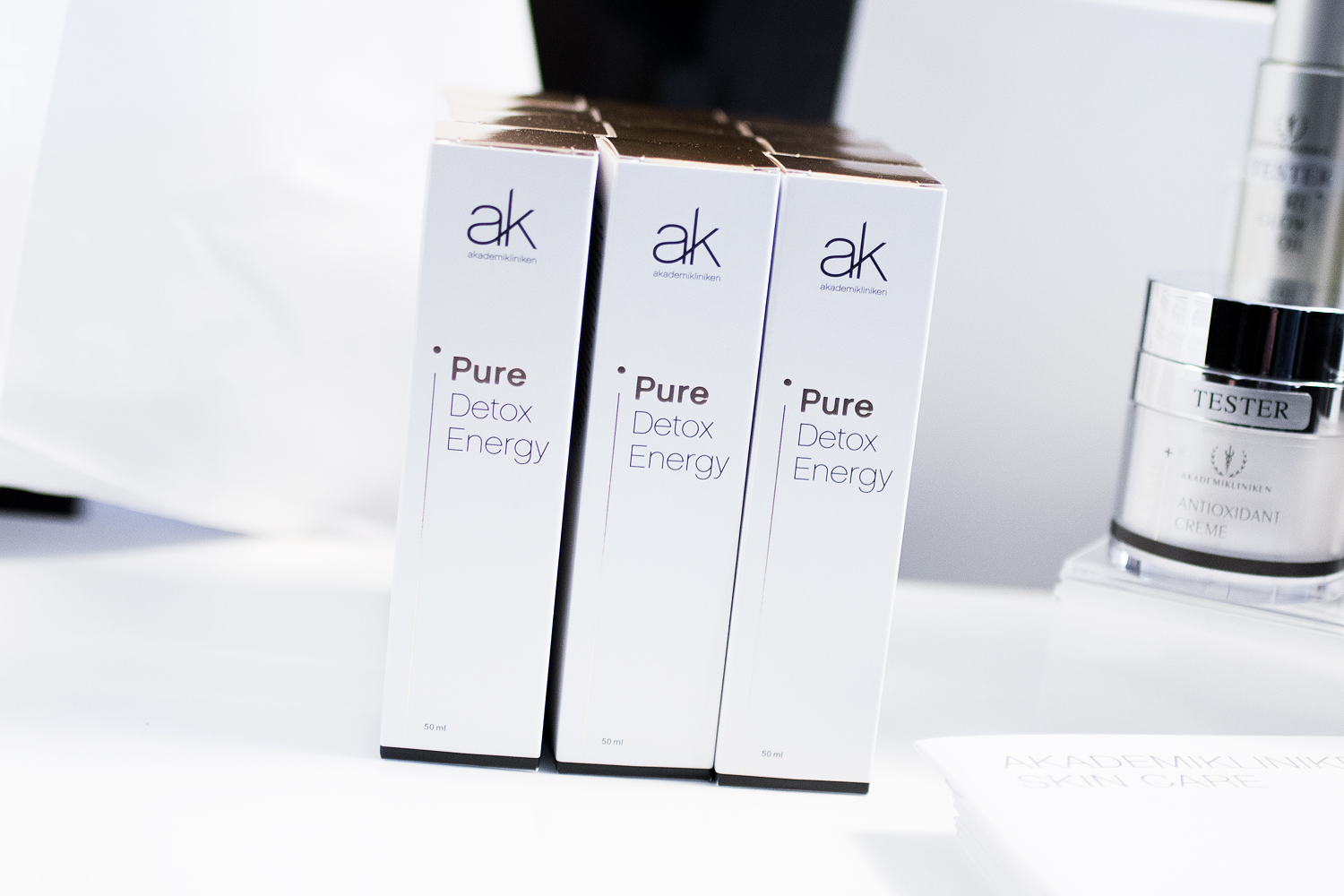 daisy beauty expo 2018 akademikliniken pure detox energy