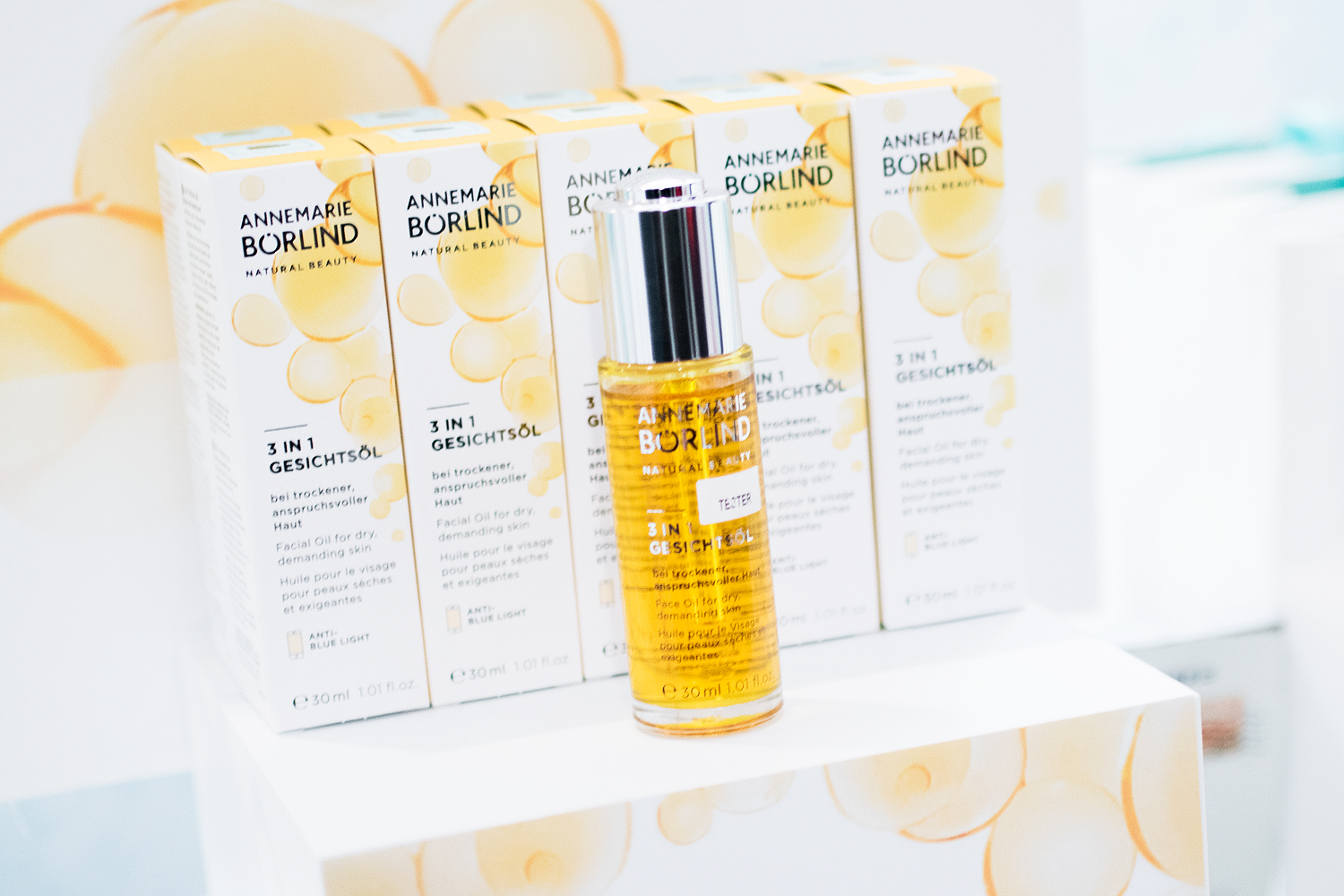 daisy beauty expo 2018 annemarie börlind 3-in-1 oil