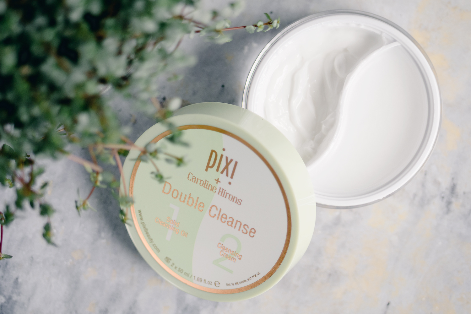 pixi by petra caroline hirons double cleanse