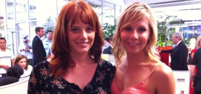 Interviews with Katherine Hicks & Gigi Edgley